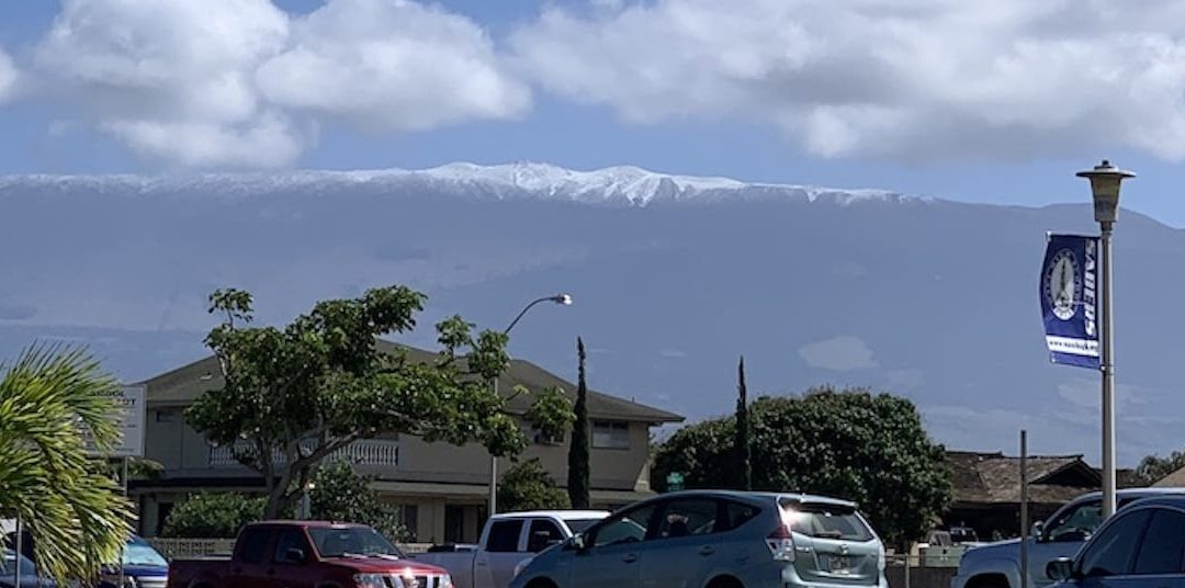More Snow Coming to Maui
